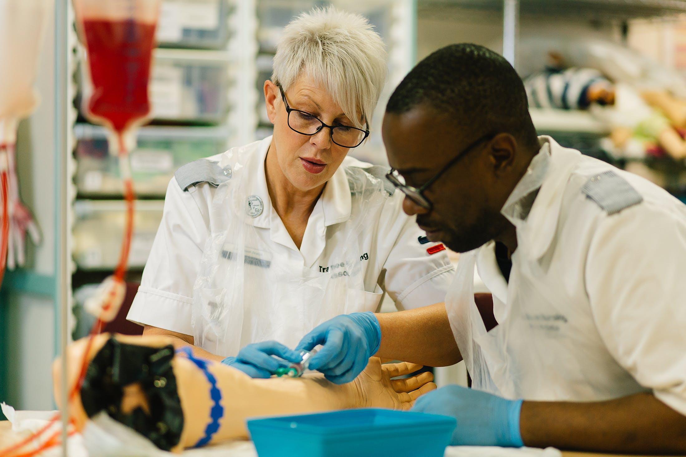 Nursing and Midwifery facilities - 14 skills nursing associates