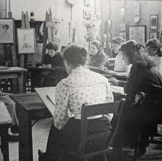School of Art Archive - historical photo
