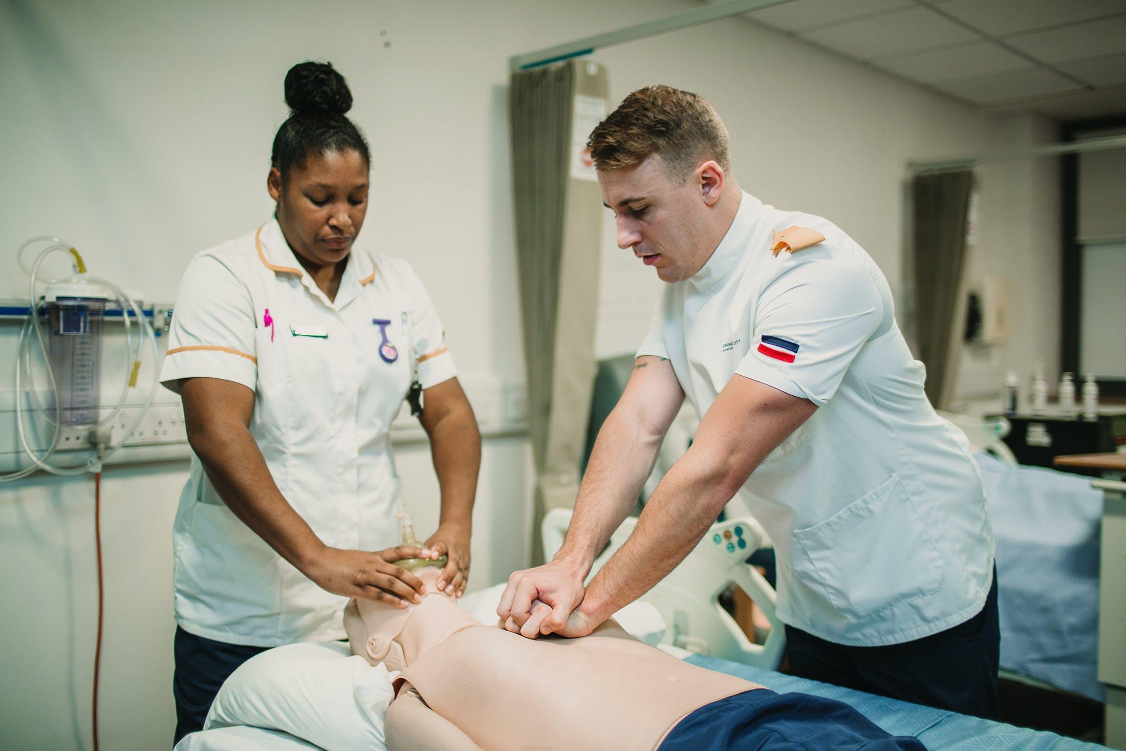 Nursing and Midwifery facilities - 3 adult manikin