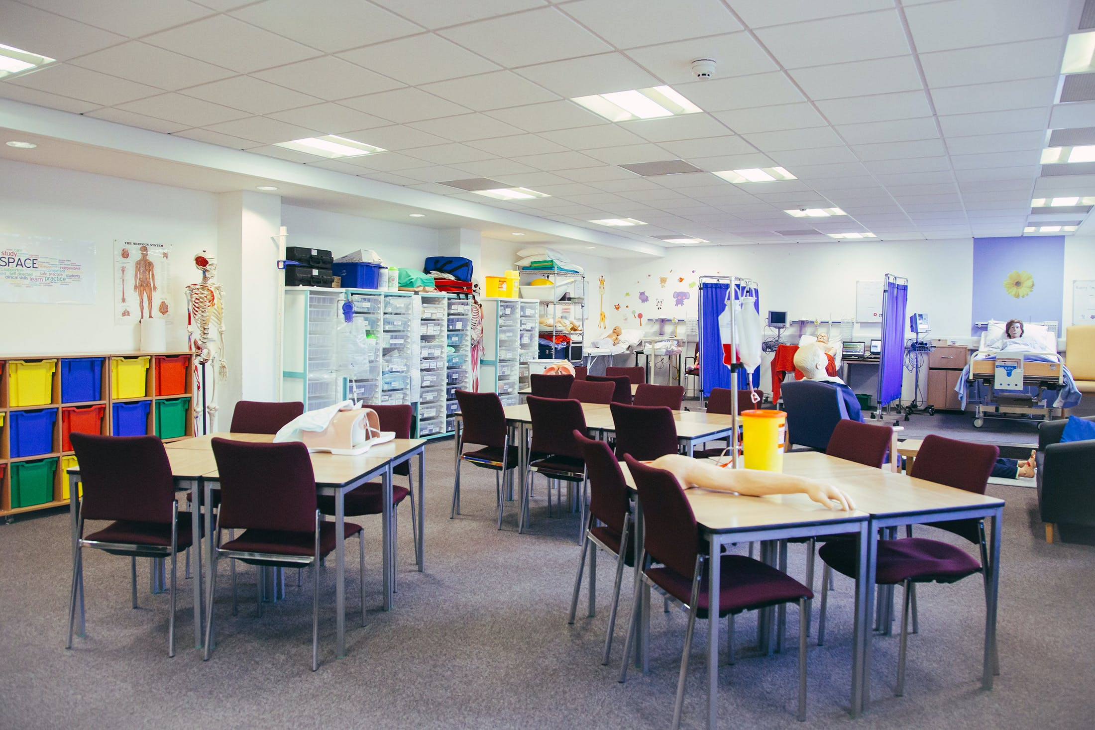 Nursing and Midwifery facilities - 5 space