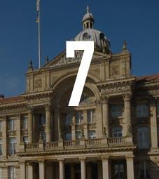 Law School - Homepage - Why Choose Us Flip Card - Birmingham Links - Birmingham Town Hall