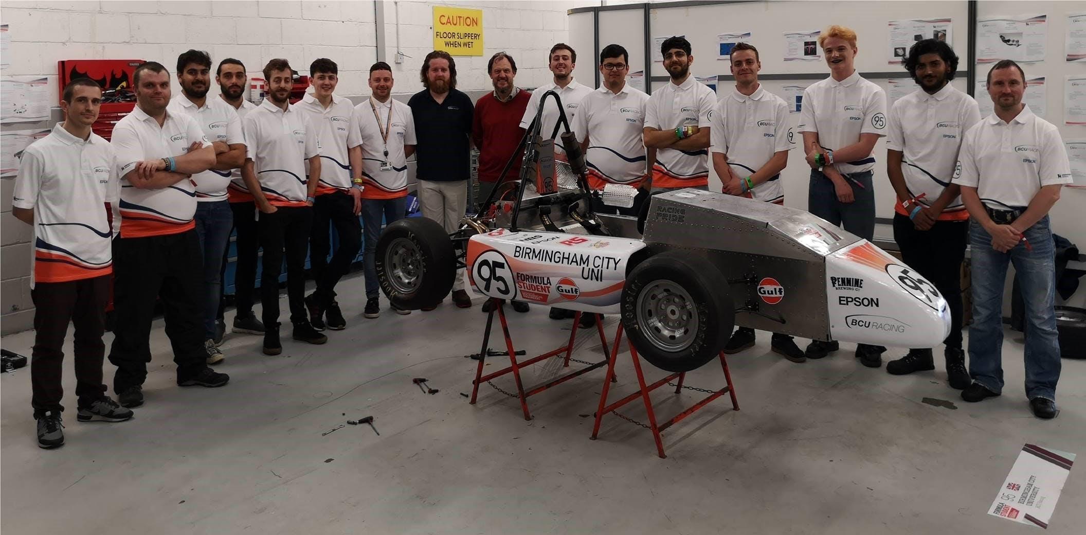 BCU Racing at Silverstone