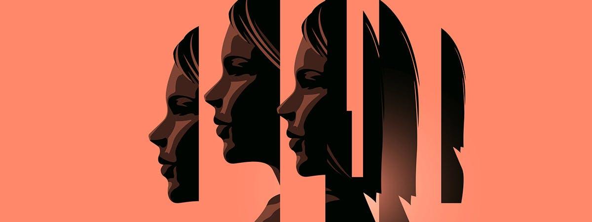 BPD 1200x450 - Cartoon woman's head split into different pieces