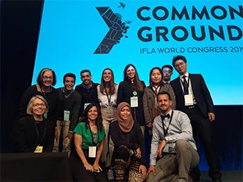 IFLA conference pic