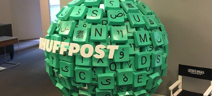 Media NYC trip Huff Post