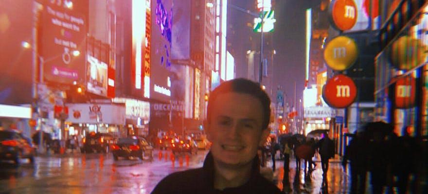 Media NYC trip times square