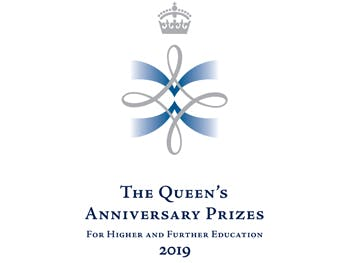 Queen's Anniversary Prize logo news
