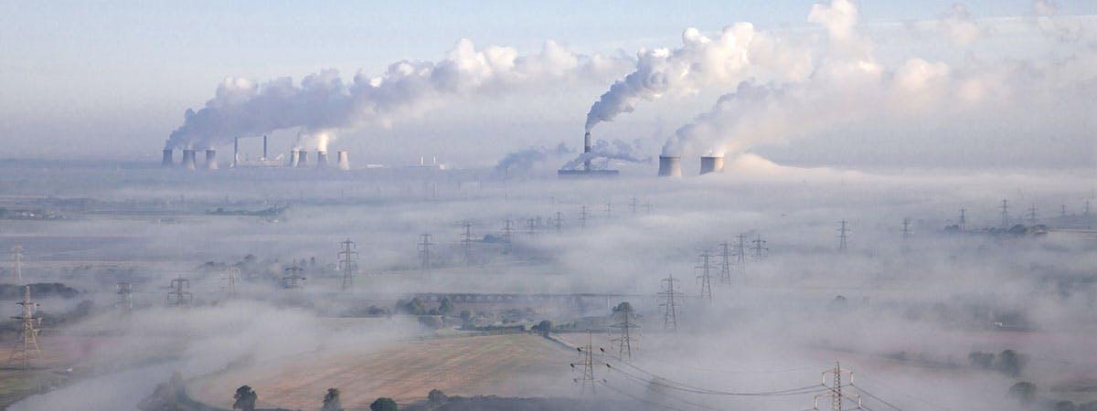 Trump Environment 1200x450 - Air pollution in a field