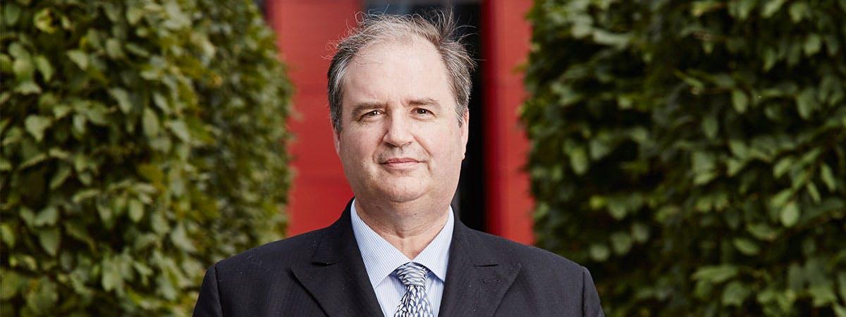 Vice Chancellor Philip Plowden