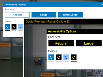 image of accessibility options