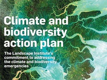 Anastasia has contributed to the Landscape Institute's Climate and Biodiversity Action Plan, looking to tackle the global climate crisis.