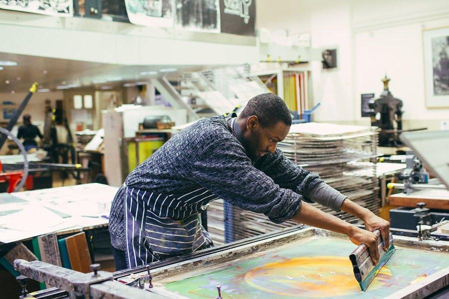 Screen Printing 1 - Art