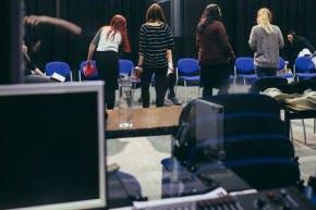 Drama room controls 1