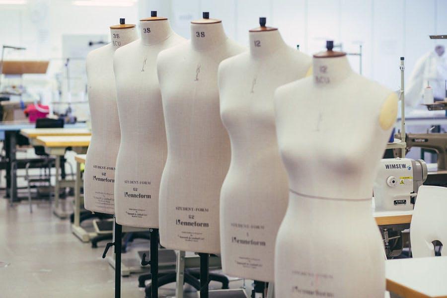 Fashion Studio Dress Stands 1
