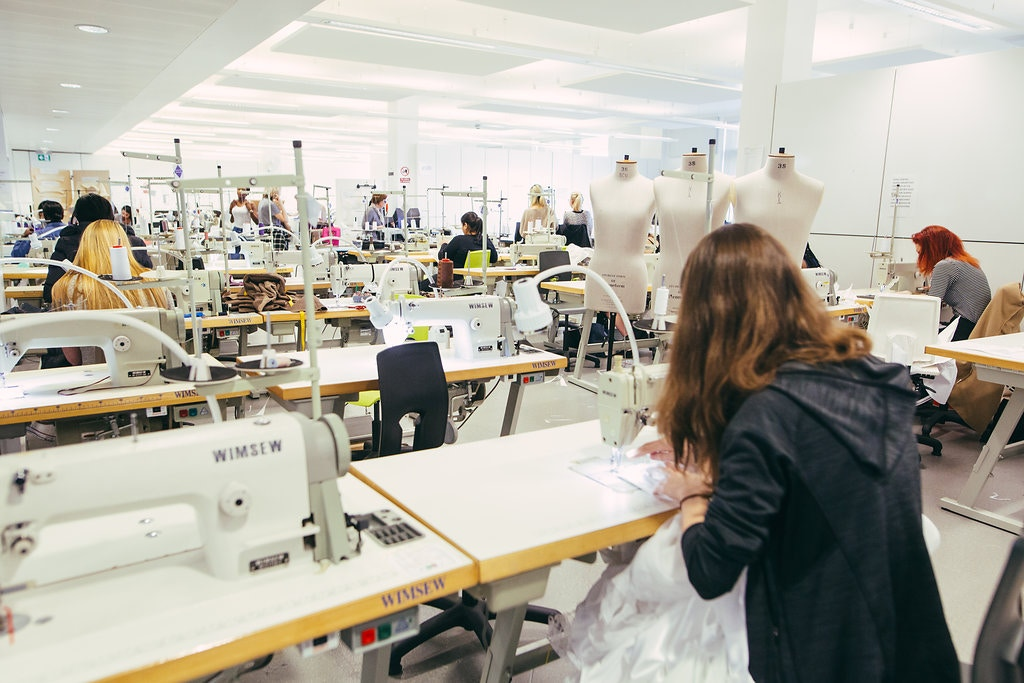 Fashion Studio WS sewing busy