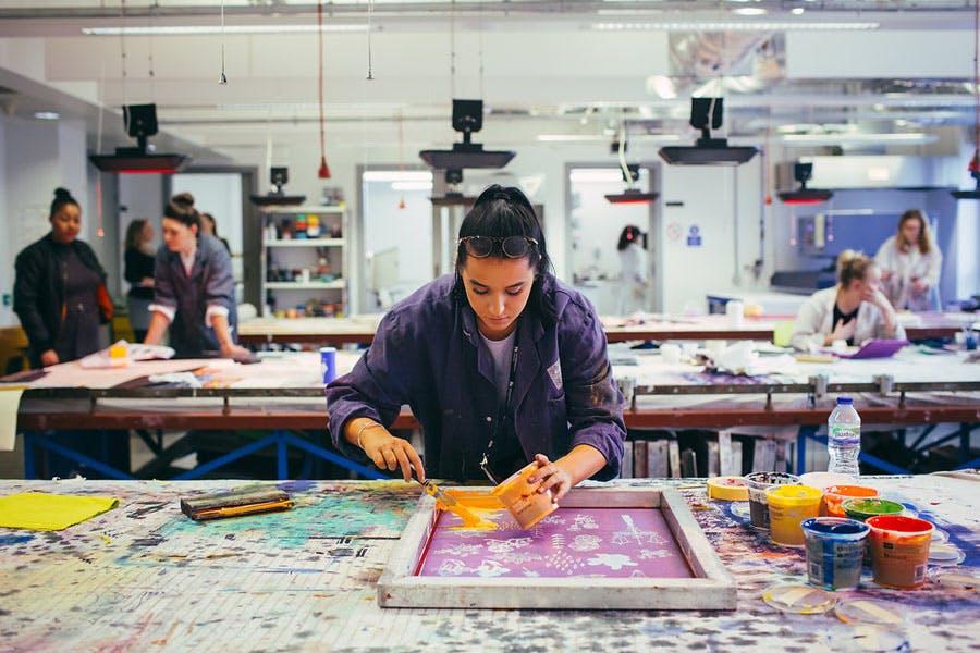 Textiles Screen Printing WS 1