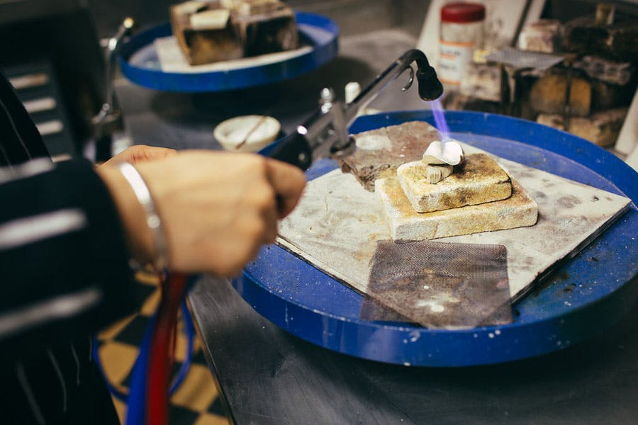 Half Gas Air Torch - Jewellery