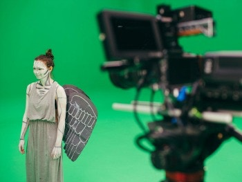 NTI Dr Who Green Screen Main Image