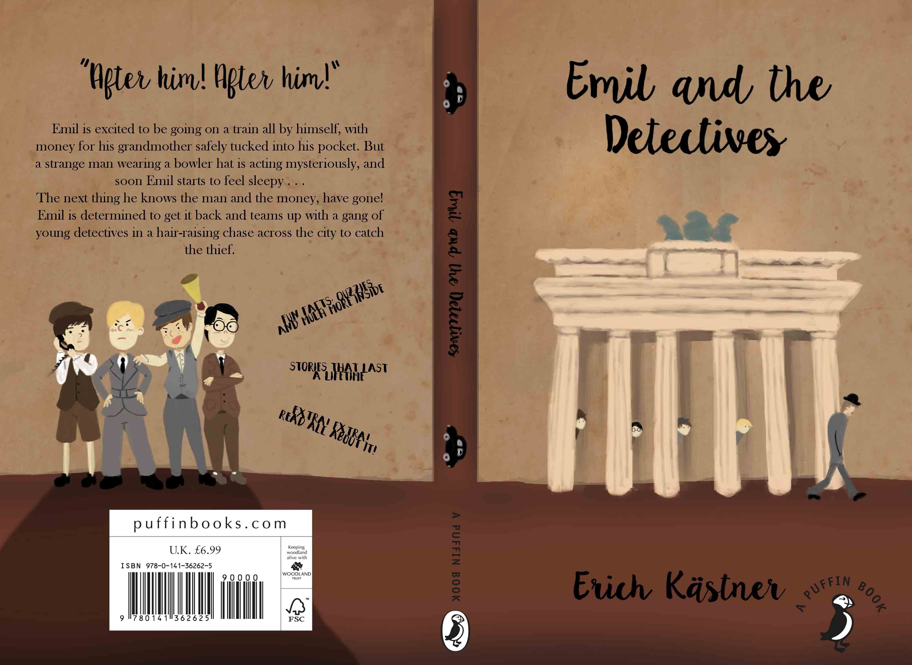 Emil and the Detectives Book Cover