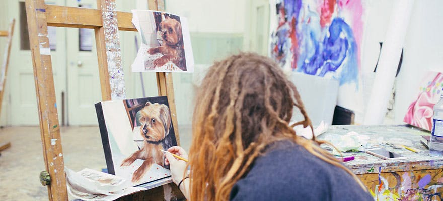 Art make the most out of staying at home blog foundation