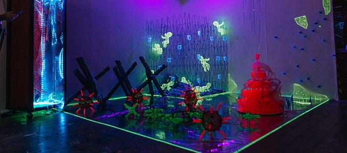 Art degree show 17- blog