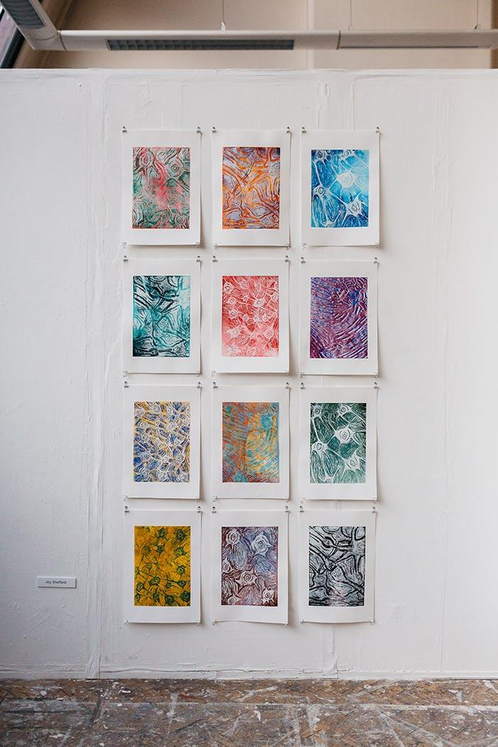 Art degree show 18- blog