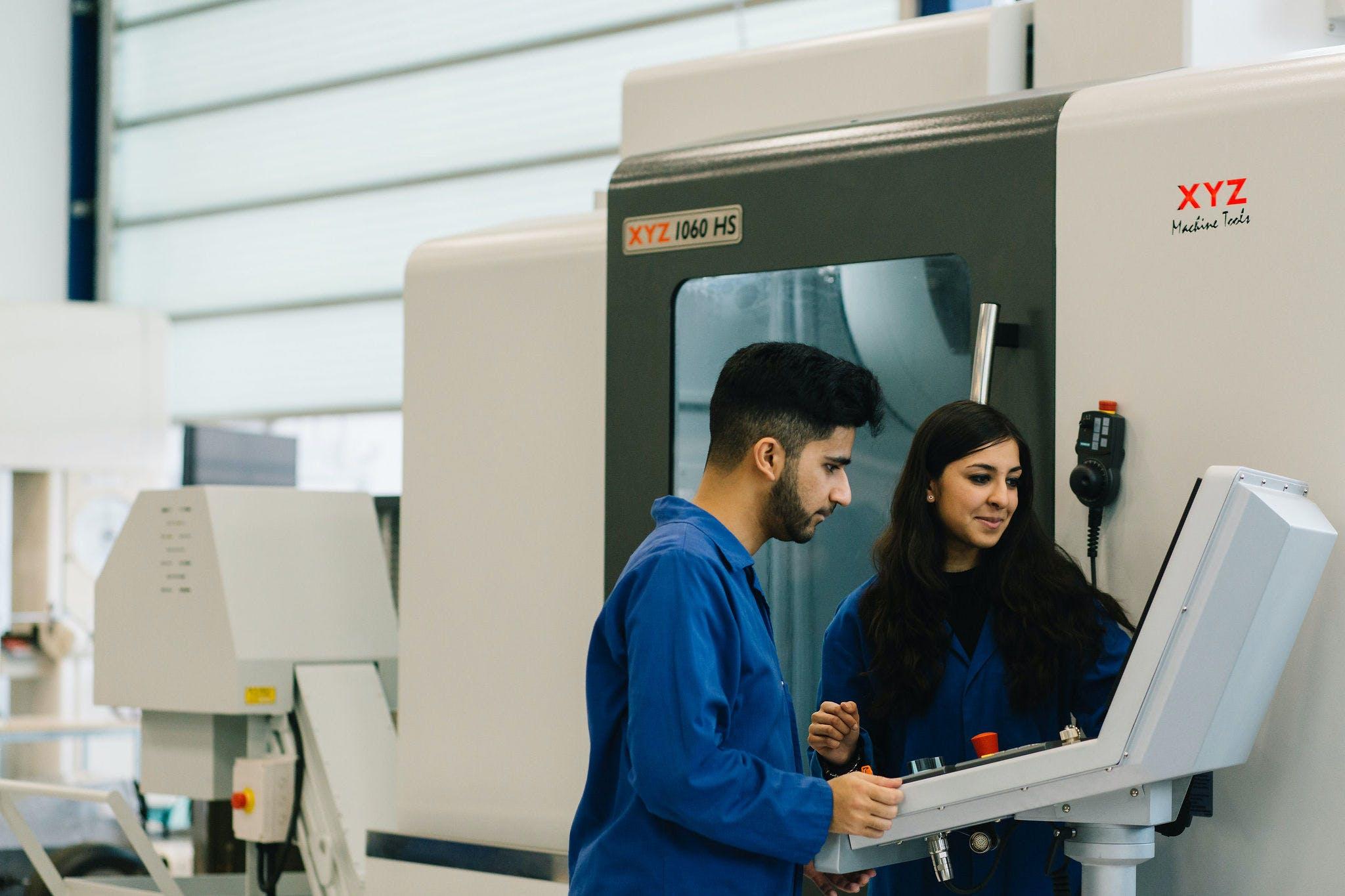 Engineering Workshop, XYZ Machinery