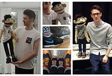 Ben Ryan - Mini Ben Puppet - CRaft Shed TV Production