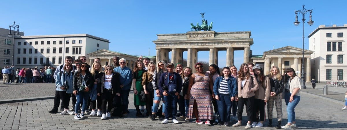 . A group of School of Visual Communication students recently had the chance to go on a study trip to Berlin and used the opportunity to immerse themselves in the local culture.