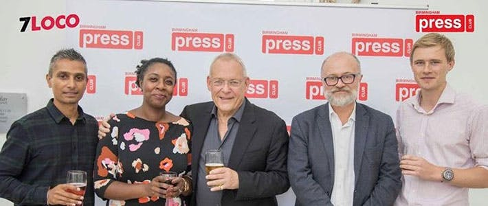 Birmingham Press Club- Channel 4 debate - Journalism first semester blog