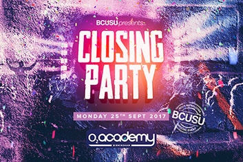 Freshers Closing party 2017
