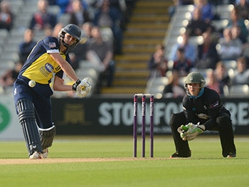 Birmingham Bears battling in NatWest T20 Blast