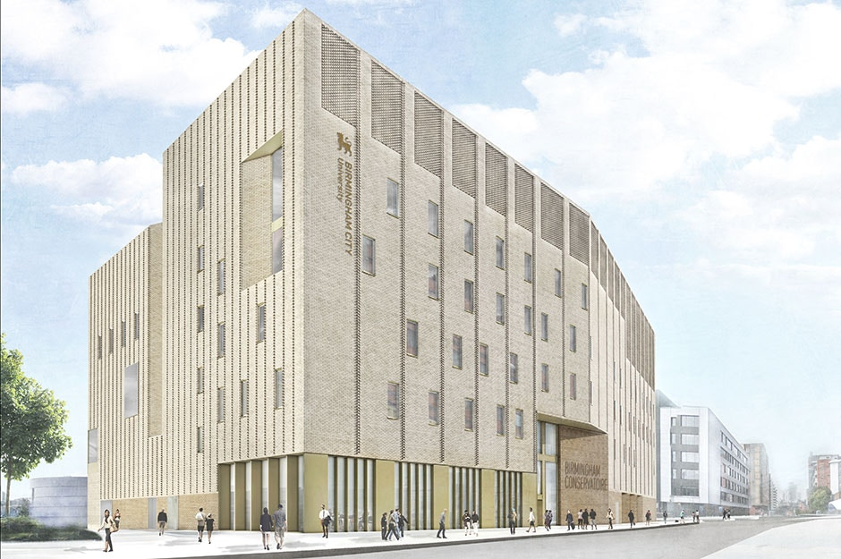 Image Result For Birmingham Conservatoire New Building Location