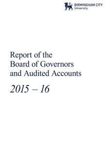 board of governers accounts