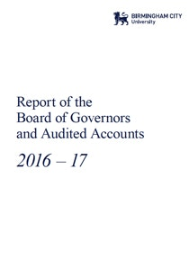 Report of the Board of Governors and Audited Accounts 2016-17