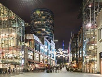 Birmingham Bullring at Night