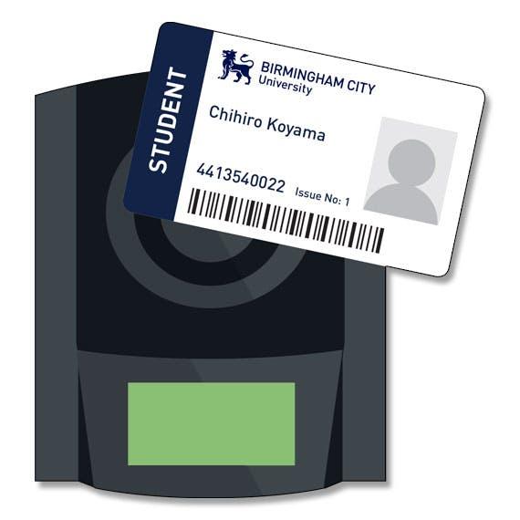 Attendance monitoring - card reader