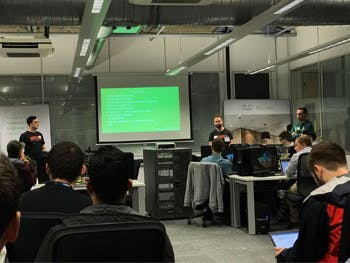 Students benefit from session with Cisco Meraki staff