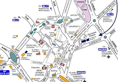 Car Parks In Birmingham Broad Street