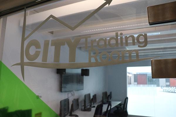 University Of Birmingham Trading Room