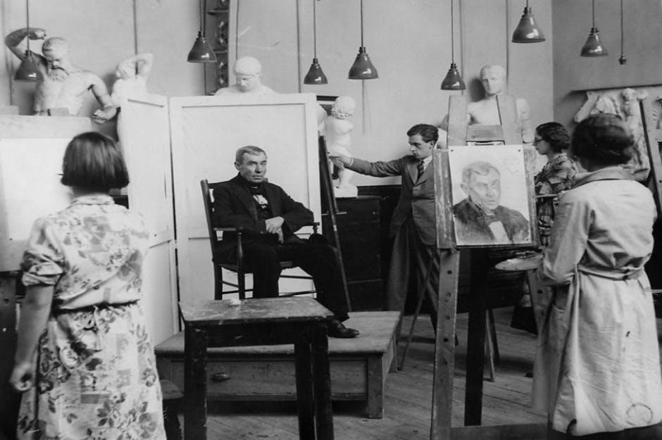 Art Class 1935