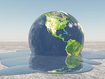Centre for Brexit Studies Climate Change Image 350x263 - Globe melting