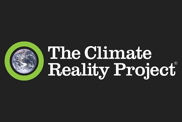 Logo for The Climate Reality Project