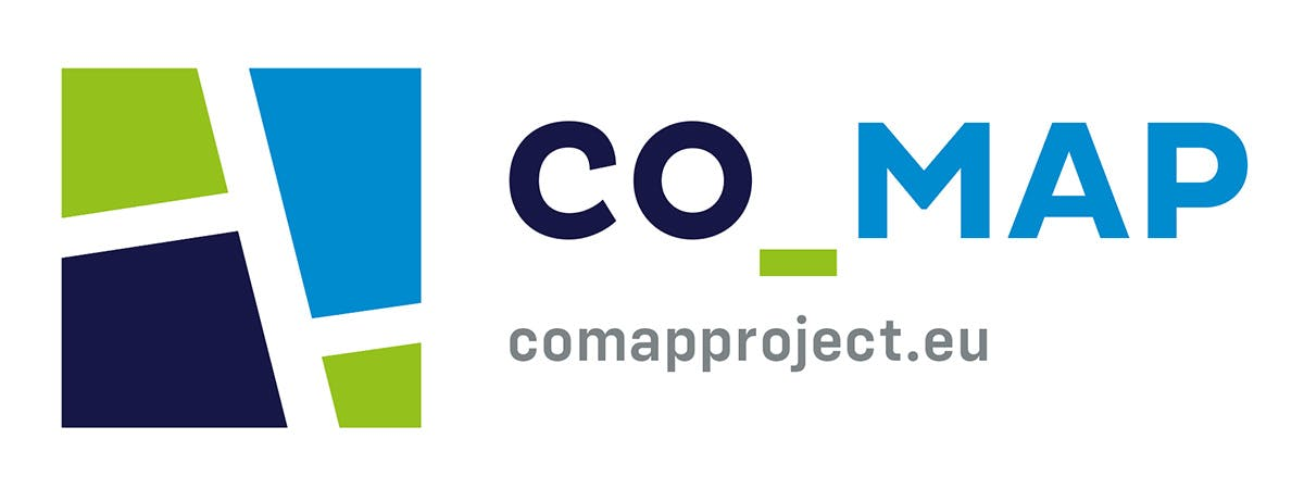 Logo for the Co-Map project