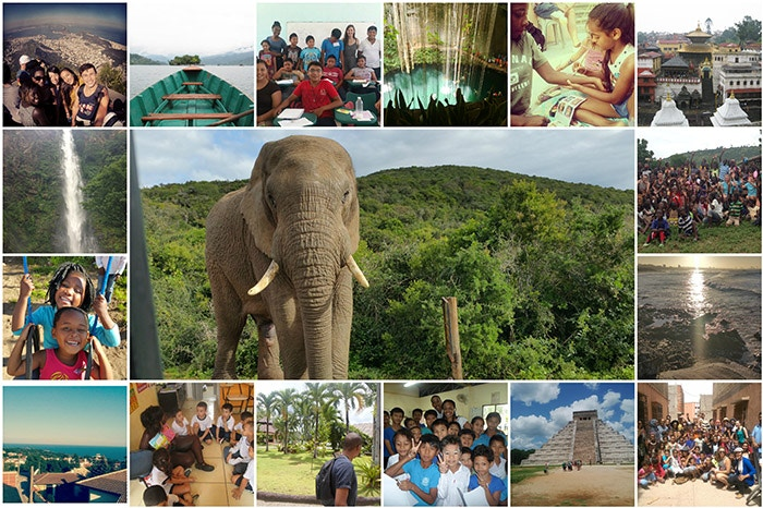 Travel Scholarship Collage Web
