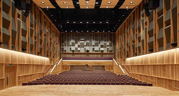 Concert Hall - Copyright Hufton +Crow