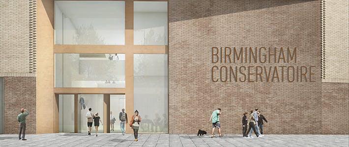 Conservatoire - News - New Building - Entrance