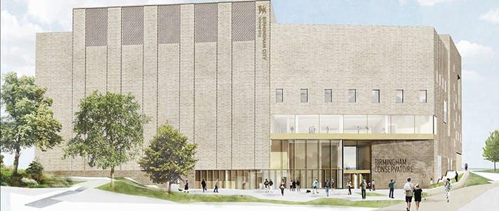 Conservatoire - News - New Building - Front