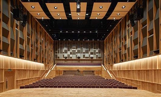 The Concert Hall homepage tile