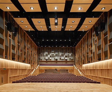 Concert Hall Hire Index